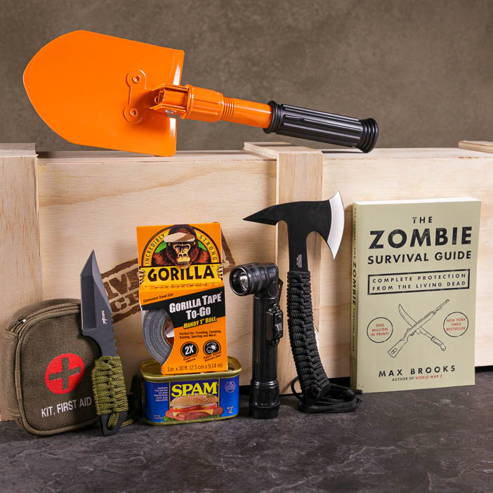 The Zombie Annihilation Crate is an awesome gift for men