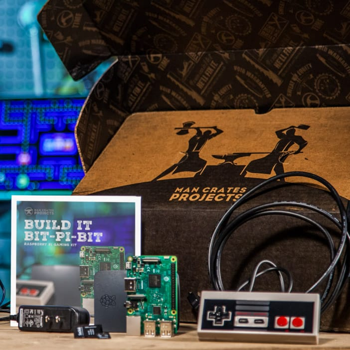 Bring modern technology and retro gaming together in a beautiful project kit