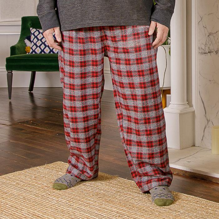 Model wearing pants