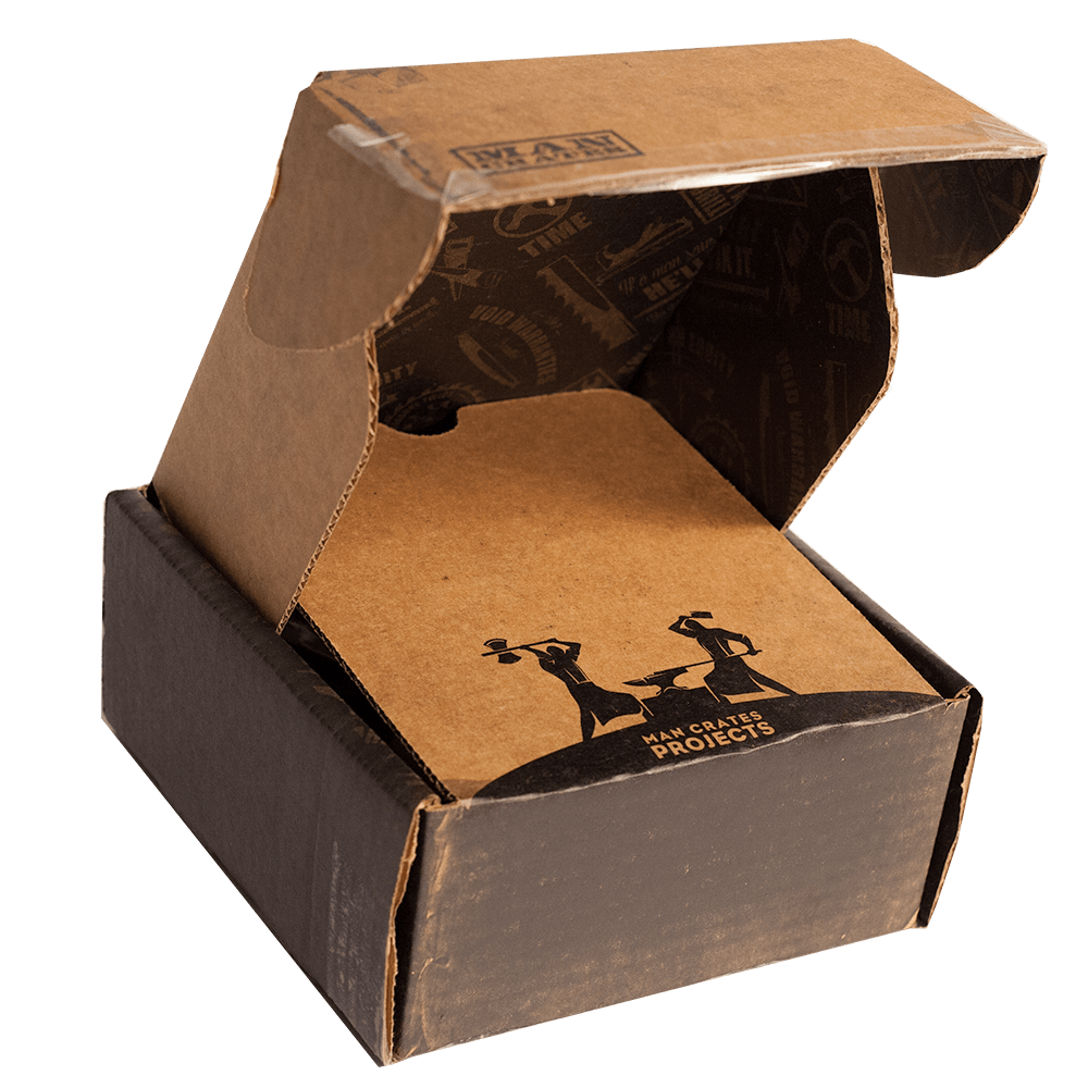 Project Kit Refills ship in cardboard boxes.