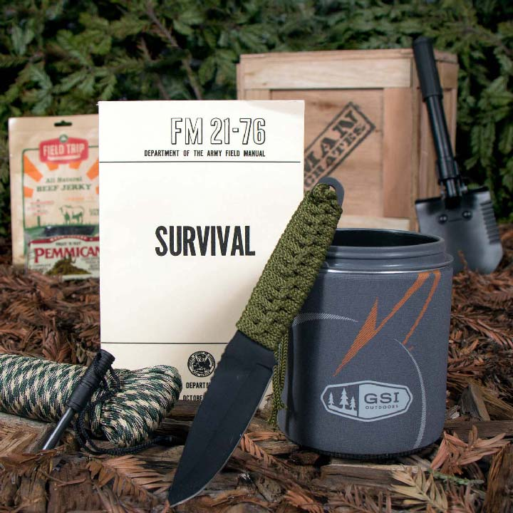 All you need to succeed in the Wild.