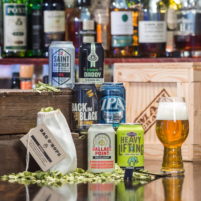 Great gift collection of 6 American IPAs