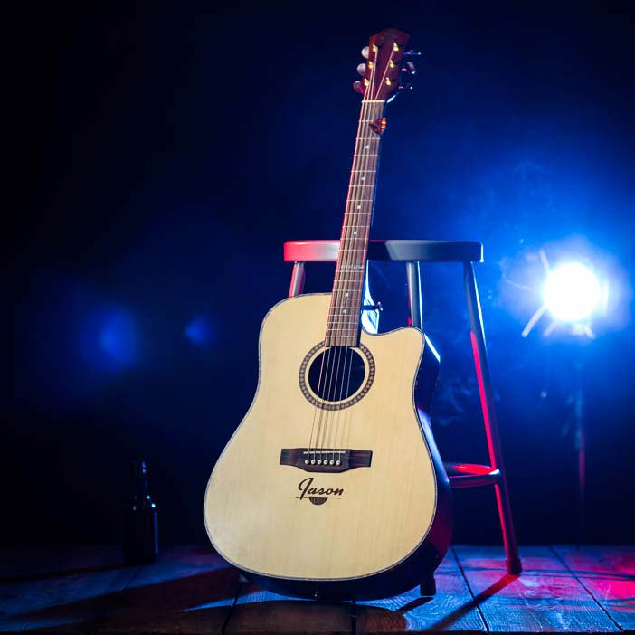 Personalized Guitar is an awesome gift for the musical guy