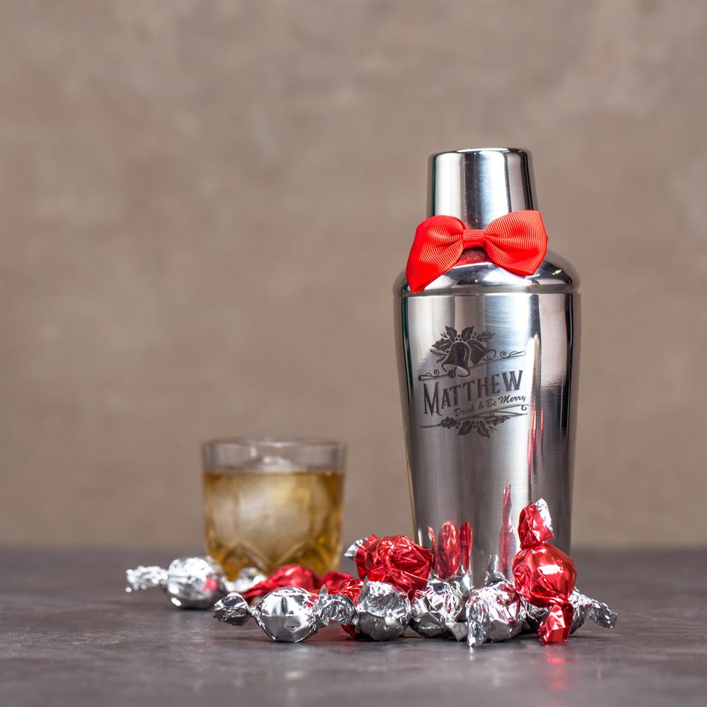 Booze Infused Truffle Shaker