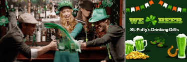 Celebrate St. Paddy with the beer, whiskey, and more uproarious St. Patrick's Day gifts!