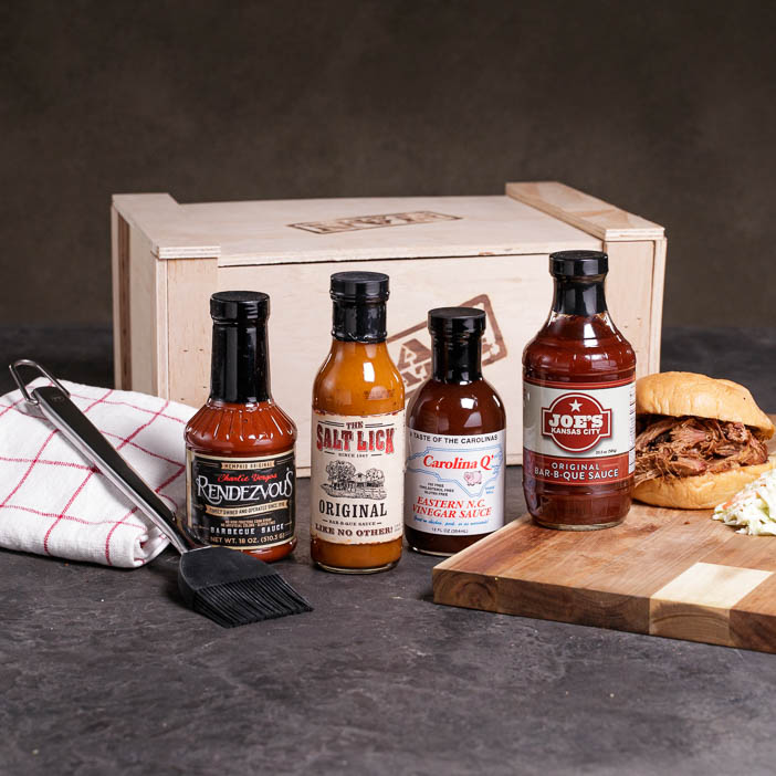 BBQ Sauce Boss Crate