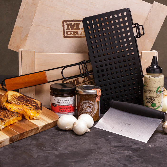 Gourmet Grilled Cheese Crate