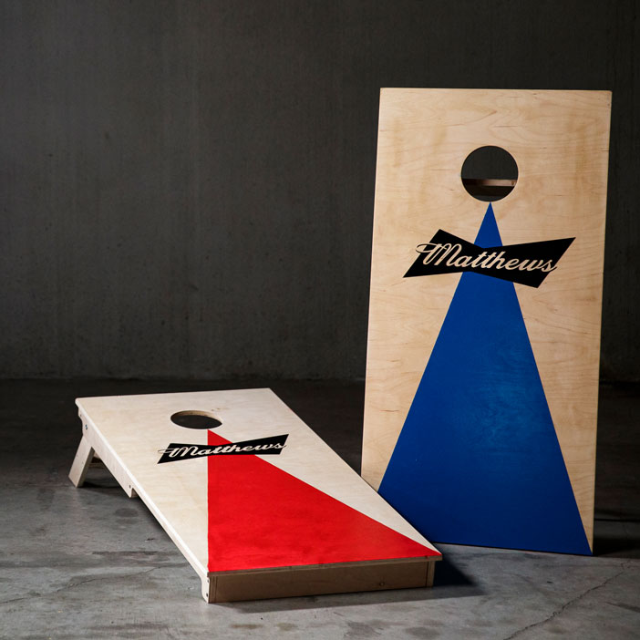 Personalized Cornhole Set is a great men's sports gift.