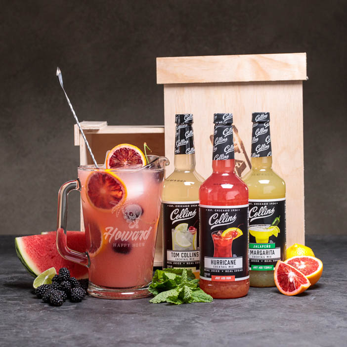 Personalized Pitcher Party Crate