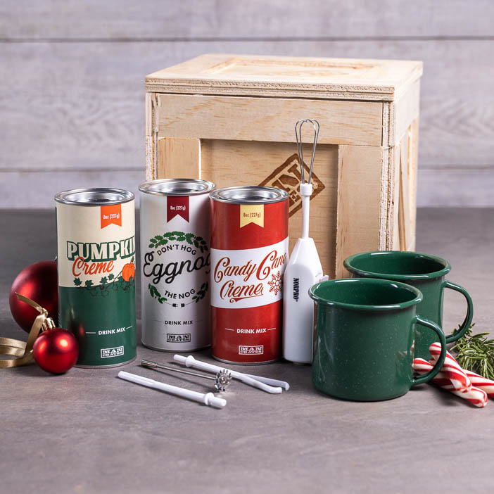 Holiday Drinks Crate