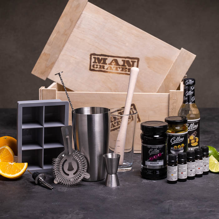 Mix Master Cocktail Crate