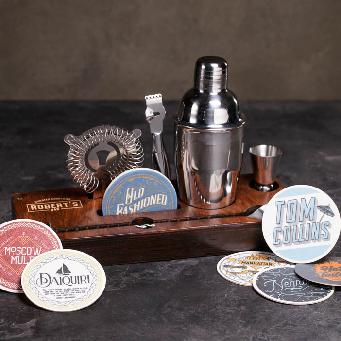 Classic Cocktail Tool Crate