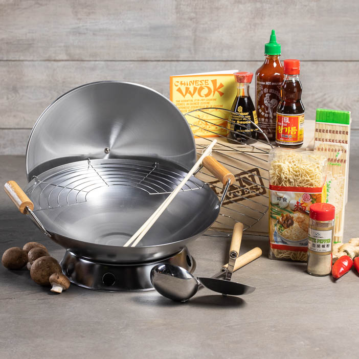 Wok On Cooking Crate