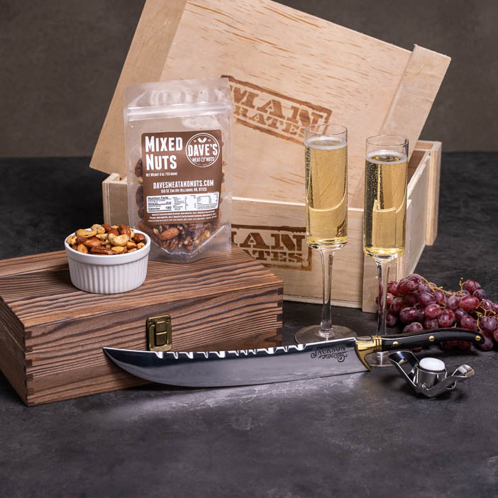 Brut Strength Champagne Crate
