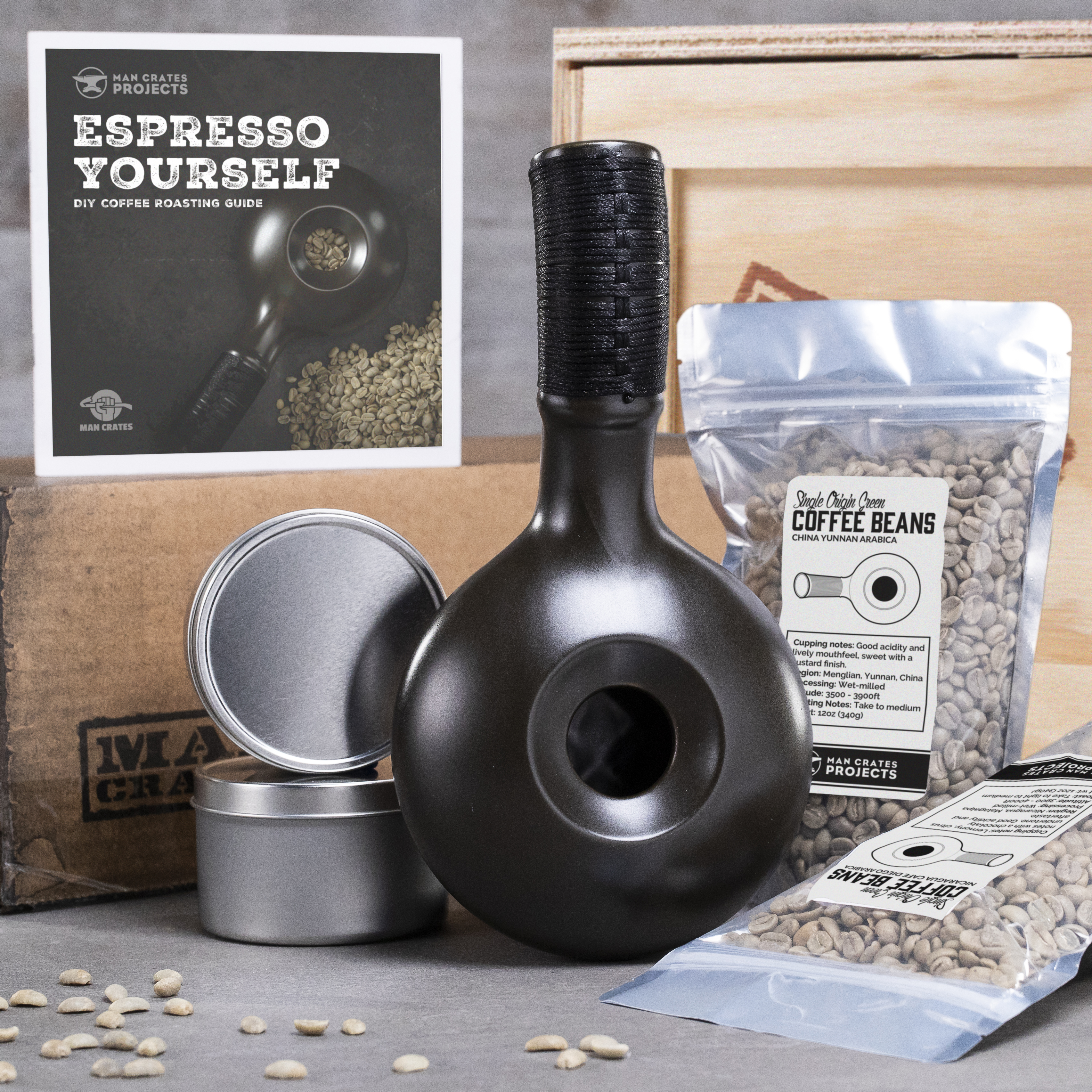 coffee roasting all components