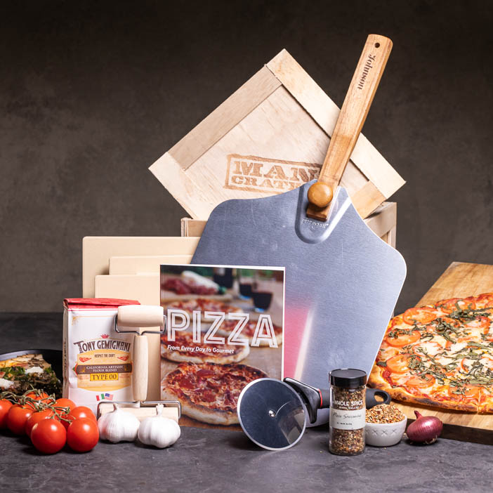 Personalized Pizza Grilling Crate Collection