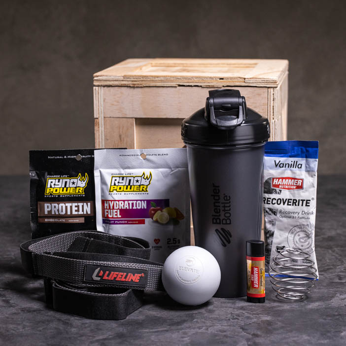 Stretch and Shake Fitness Crate