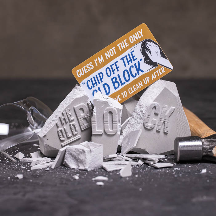 Chip Off the Old Block Gift Card