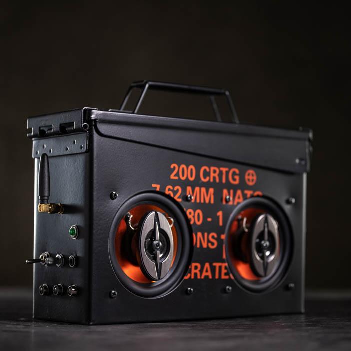 Ammo Can Speaker Kit