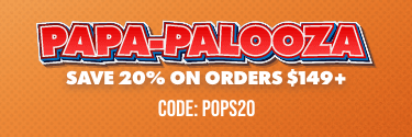 Man Crates Papa-palooza! Save 20% on Orders $149+ (Code: POPS20) - Shop Now!
