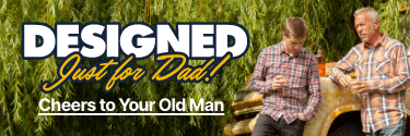 Designed Just For Dad! Cheers to Your Old Man! Shop Personalized Gifts!