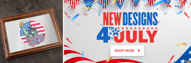 New Designs! 4th of July - Party Like It's 1776! Shop Now!