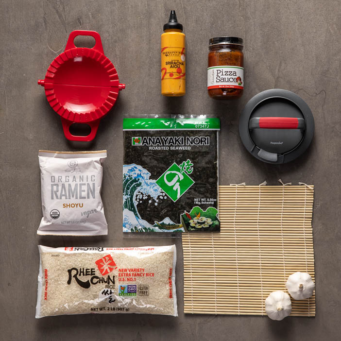Flavor Fusion Food Crate
