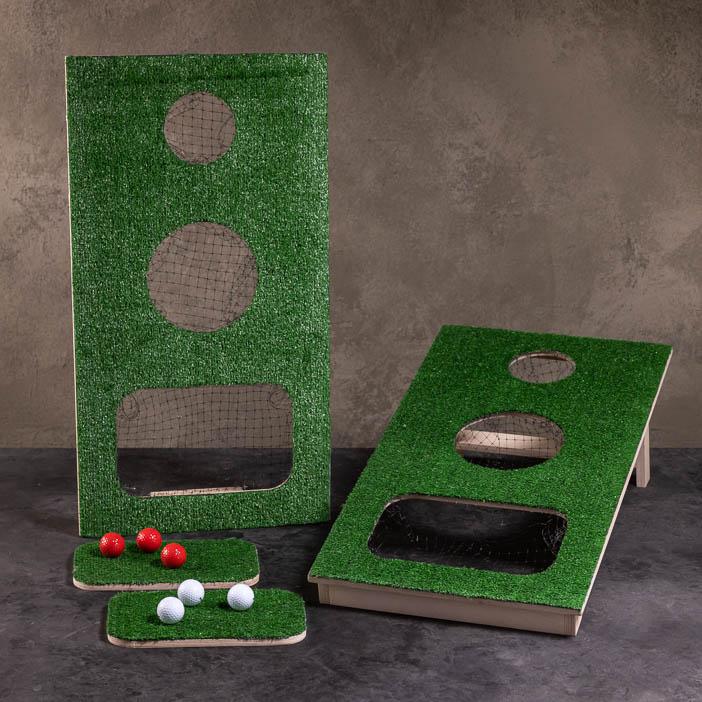 Golf Cornhole Set