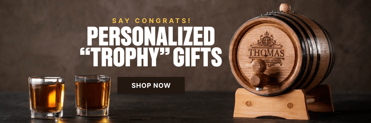 """Say Congrats! Personalized """"Trophy"""" Gifts - Shop Now!"""